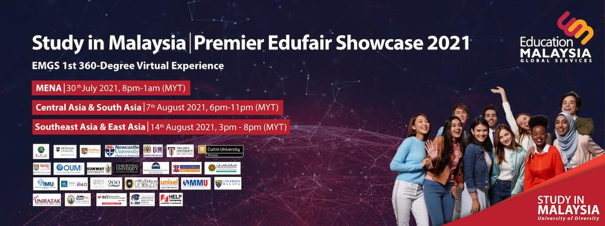Study in Malaysia Showcase 2021